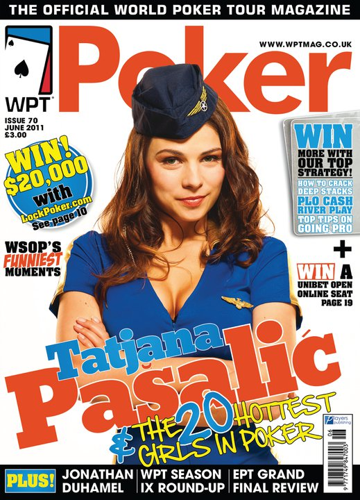 Tatjana Pasalic WPT Mag Cover
