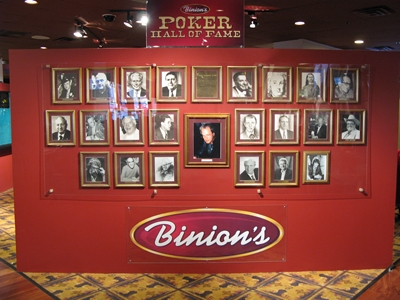 Oι υποψηφιότητες του Poker Hall of Fame