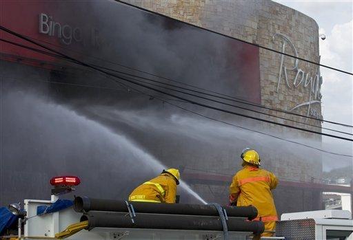 Φωτιά σε καζίνο στο Μεξικό