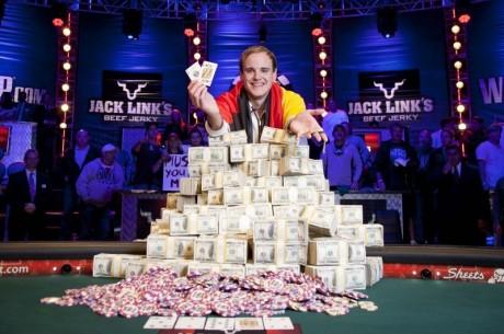 O Pius Heinz παγκόσμιος πρωταθλητής πόκερ!